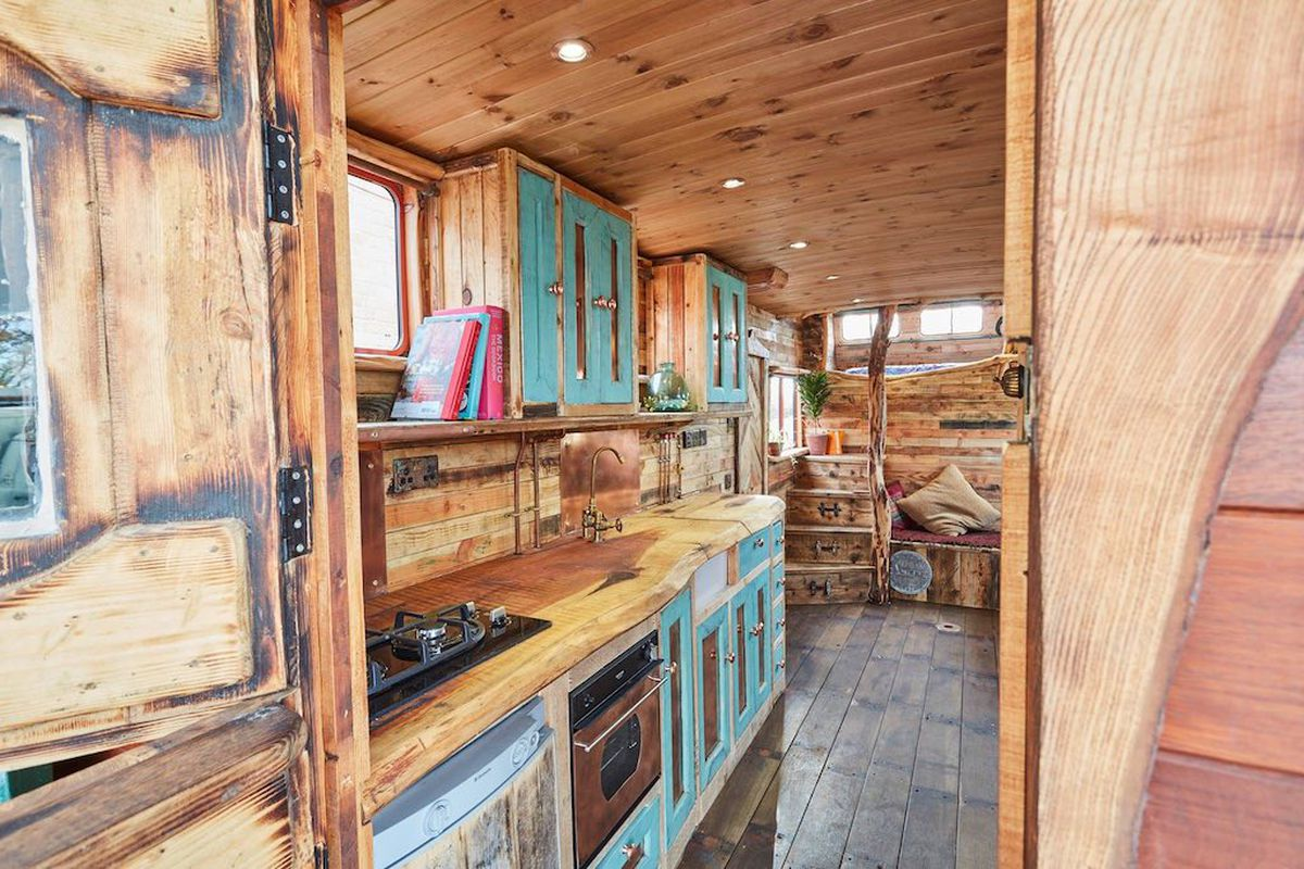Rustic House Truck Converted From Horsebox Curbed