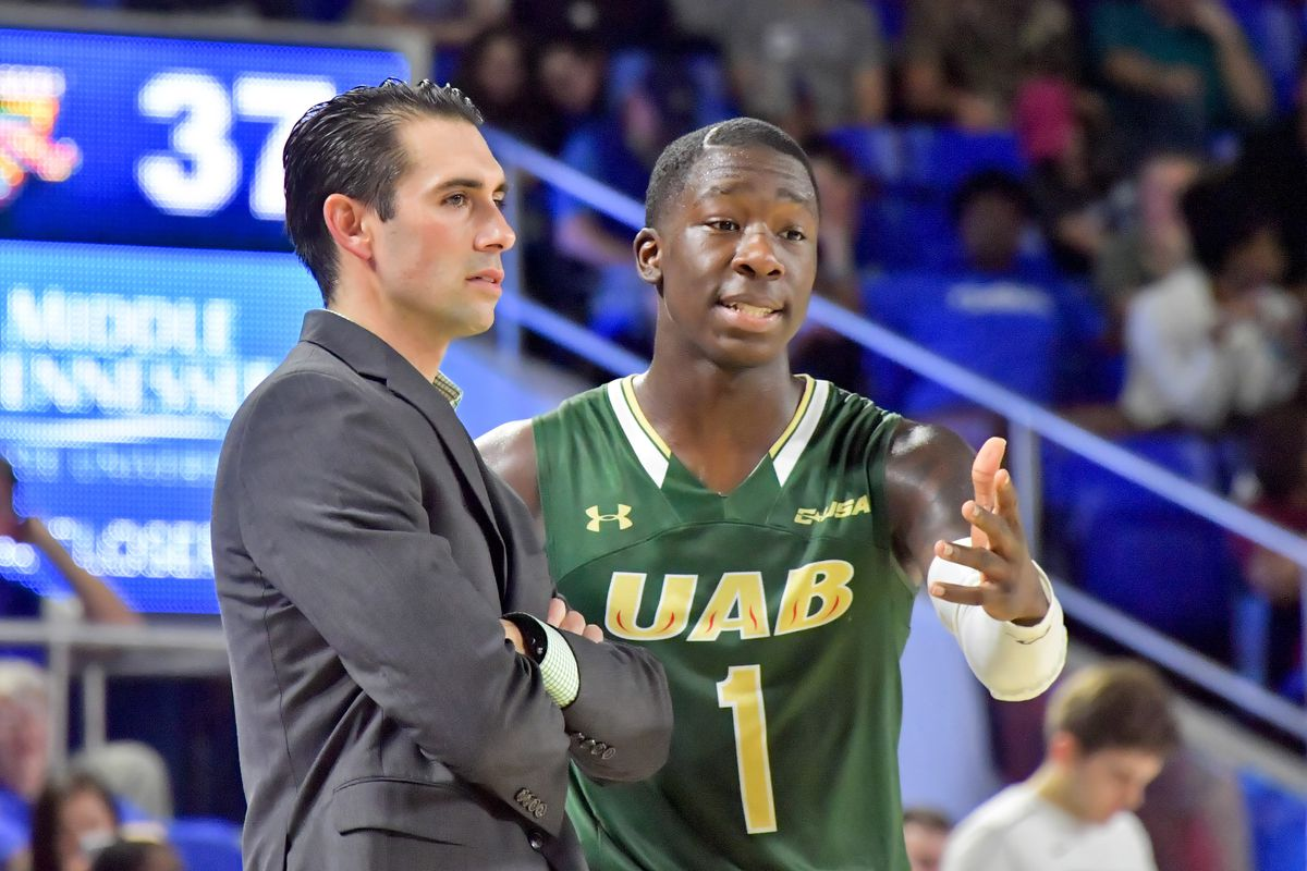 NCAA Basketball: UAB at Middle Tennessee State