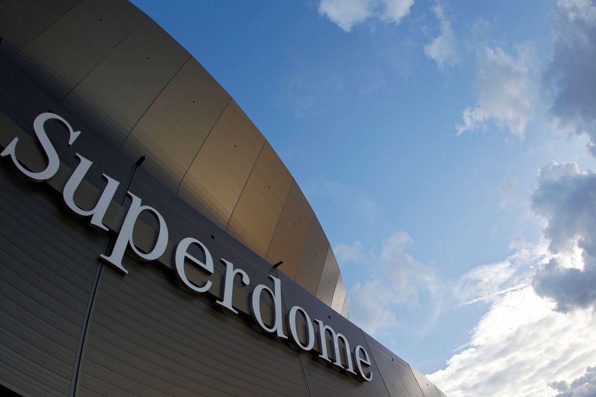 Superdome, here we come!.  (Photo by Chris Graythen/Getty Images)