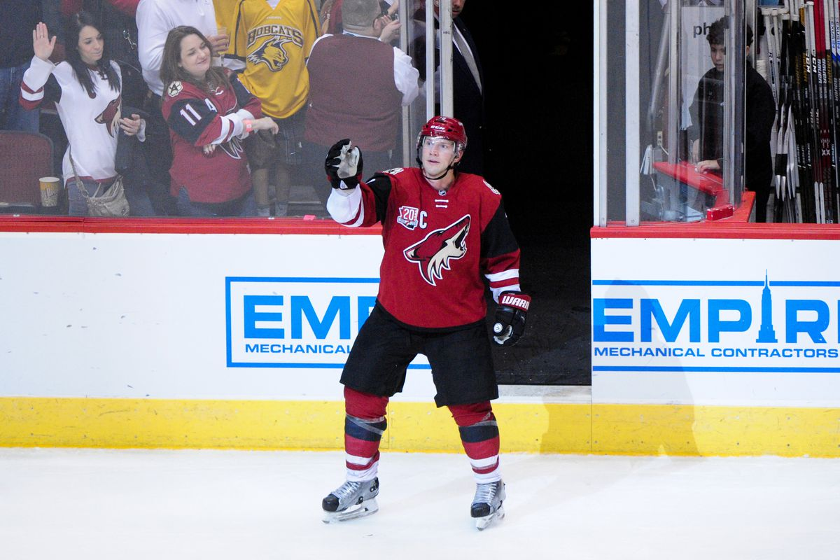 Shane Doan might waive his NMC if he were to be traded to a contender.