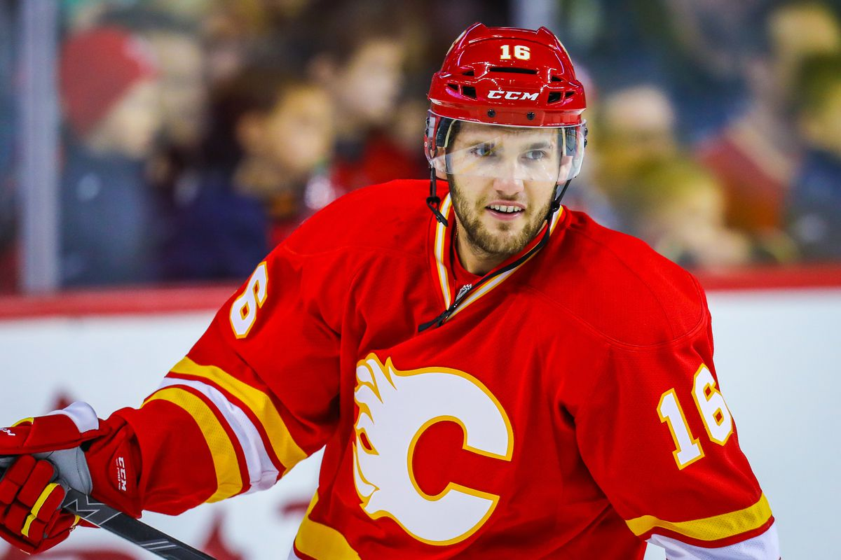 Linden Vey is once again a Stockton Heat
