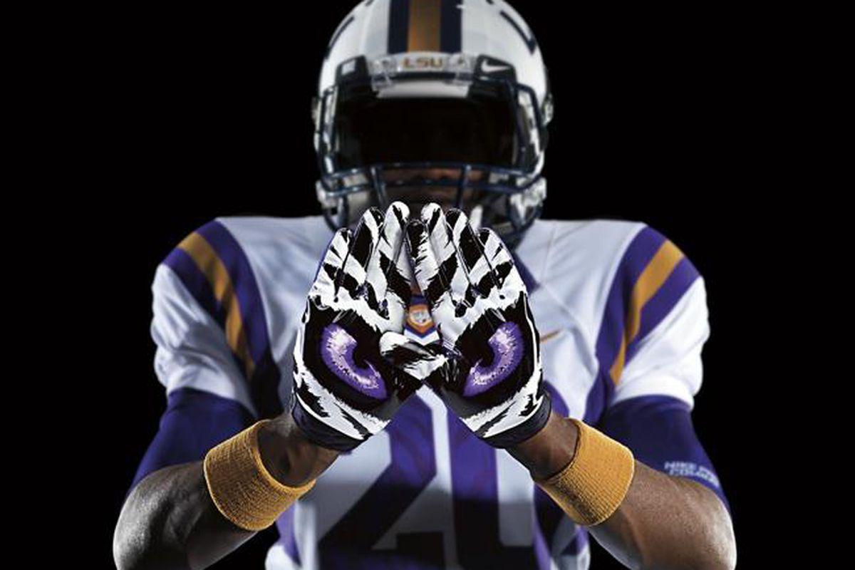 online store 41abe 2e6ff Nike Pro Combat Uniforms 2011: LSU, Ohio State Among Final ...