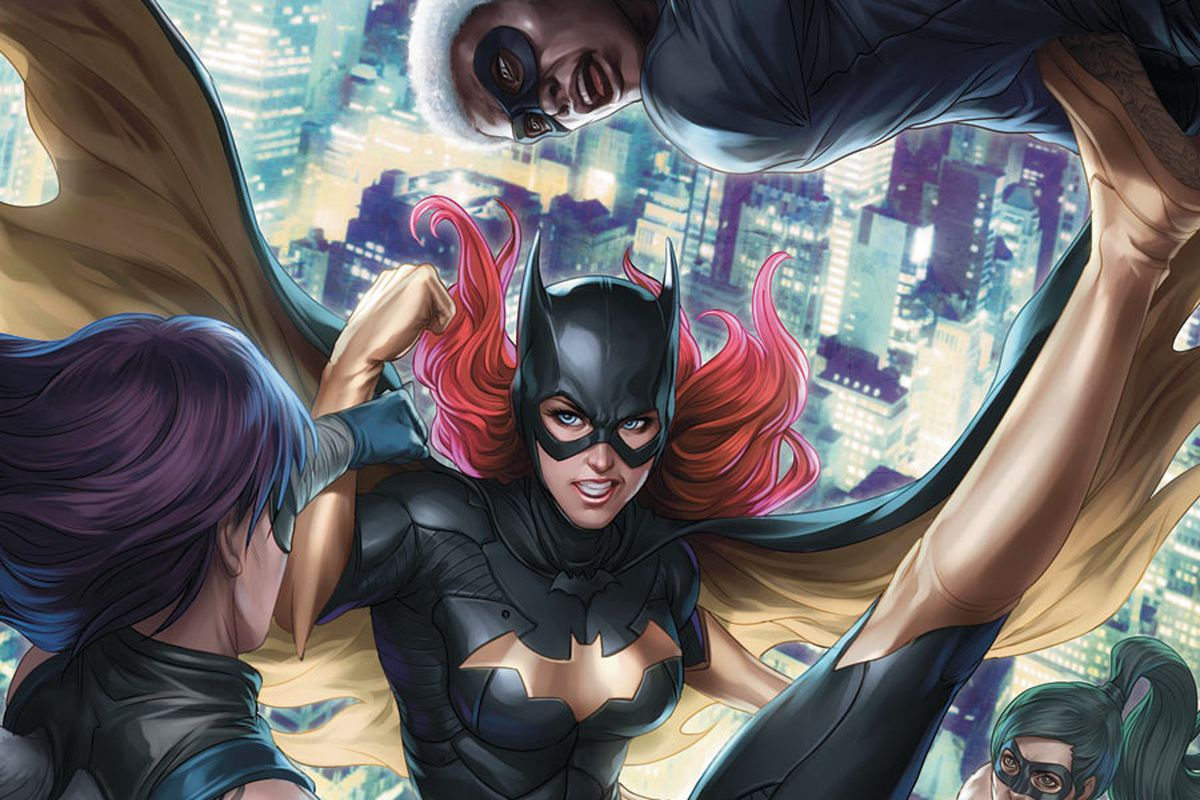 Batgirl on the cover of Batgirl #11, DC Comics, 2012.