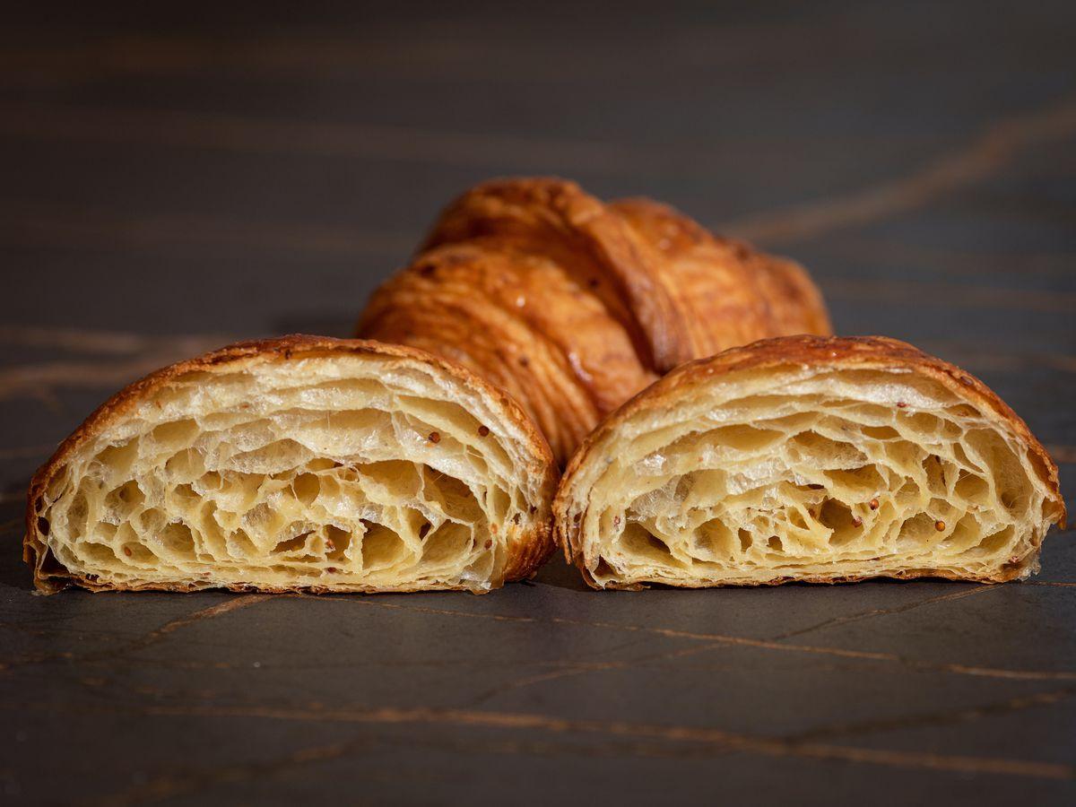 croissants cross sections