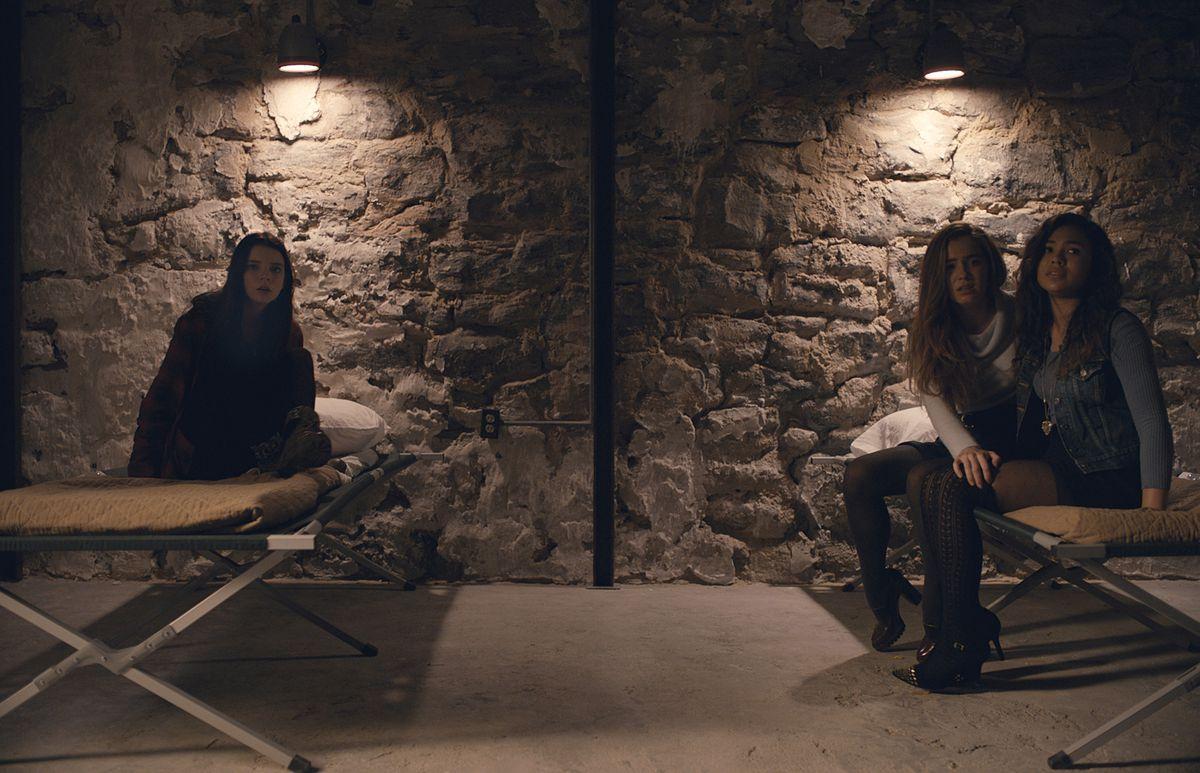 A scene from M. Night Shyamalan's movie Split