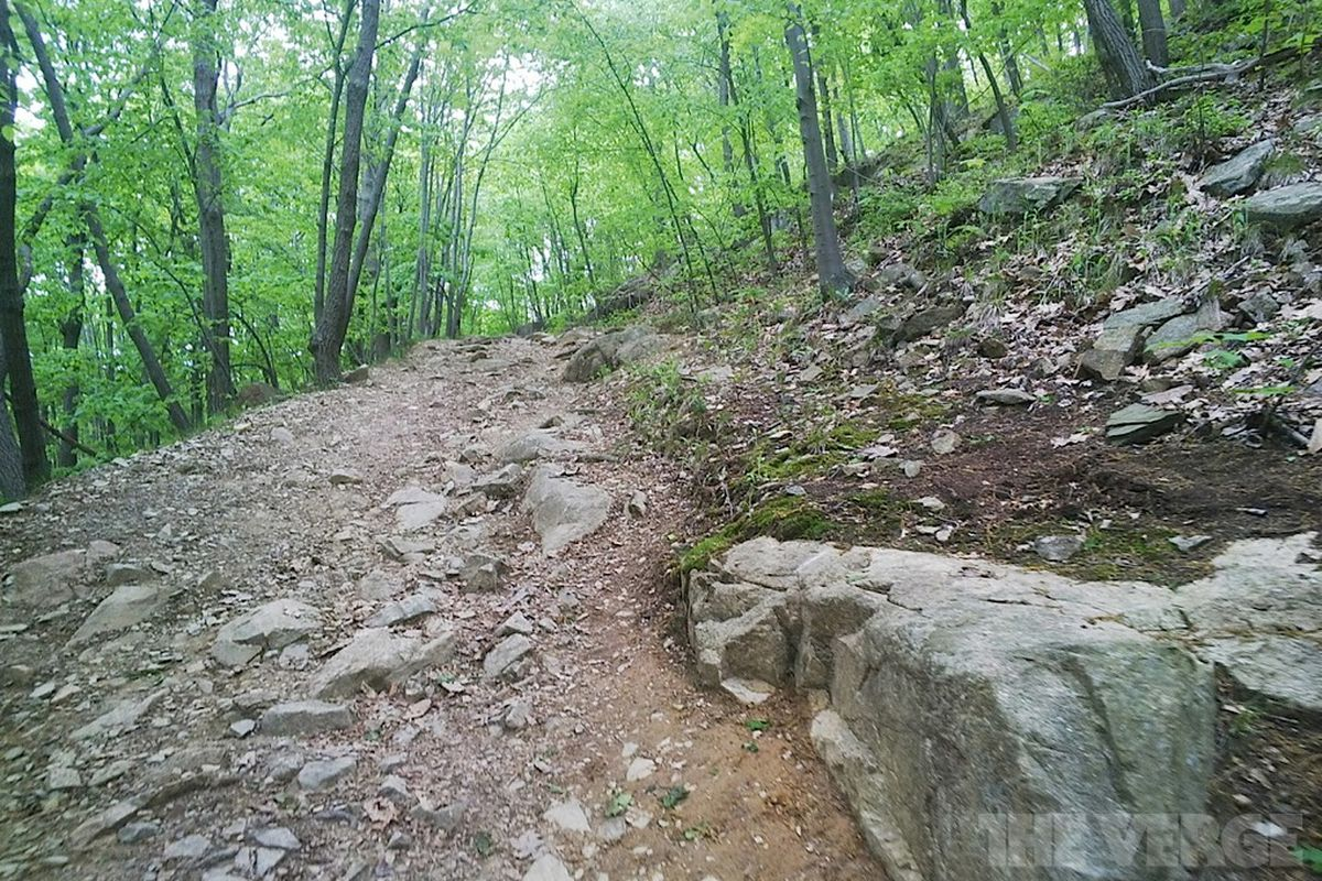 Hiking with Google Glass