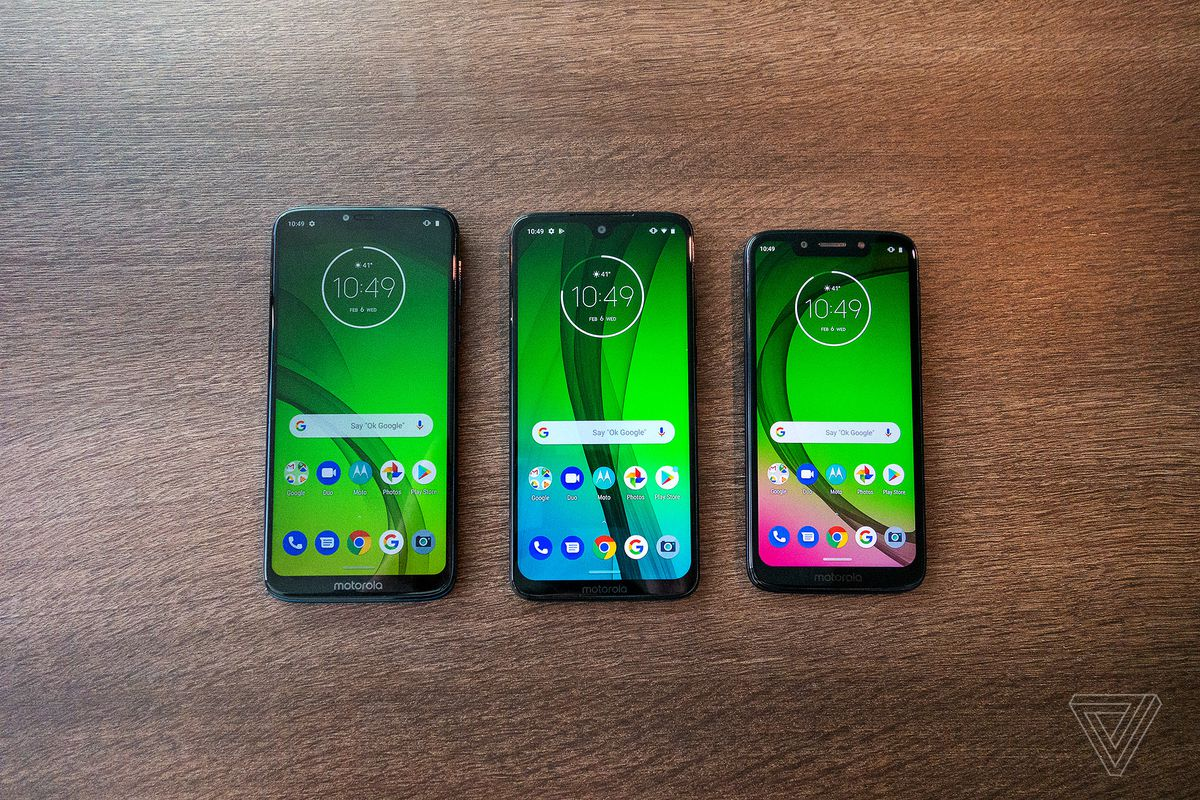 Motorola Moto G7 and One lines are getting Google's call