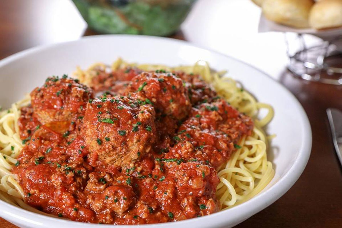 Menu For Olive Garden: All The Pasta You Can Eat With Olive Garden's Never Ending
