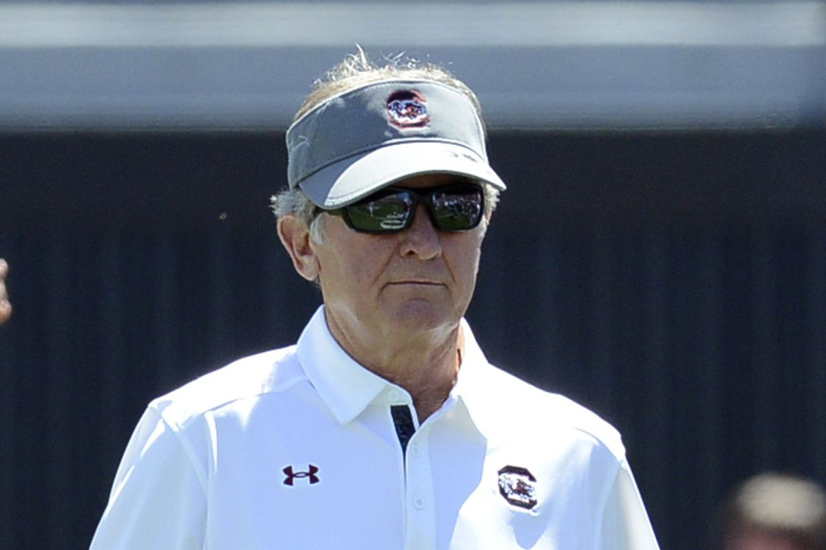Spurrier leads Carolina into its 2013 schedule, his 9th season at the helm of the Gamecock program.