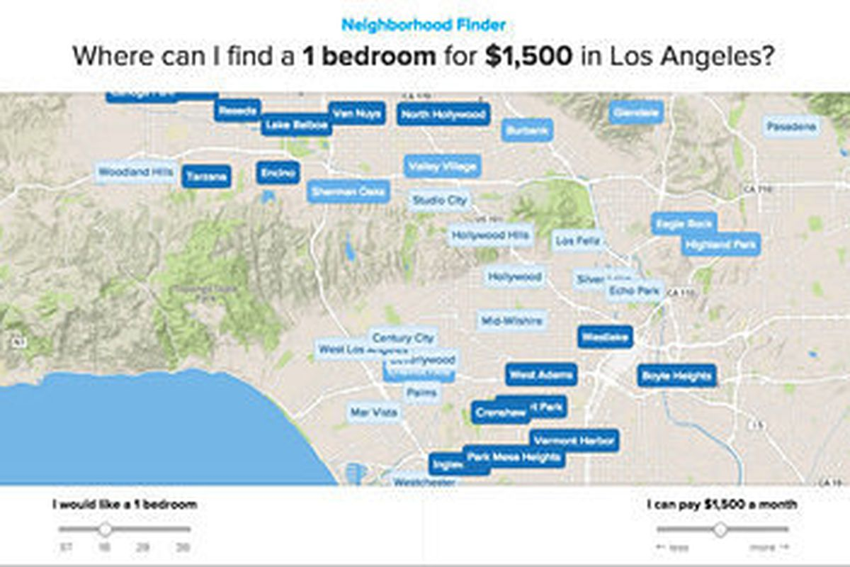Mapping Exactly Which Los Angeles Neighborhoods You Can Afford To