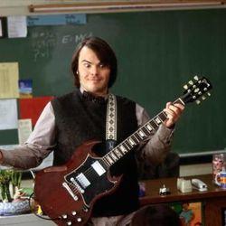 "Jack Black as Dewey in ""The School of Rock."""