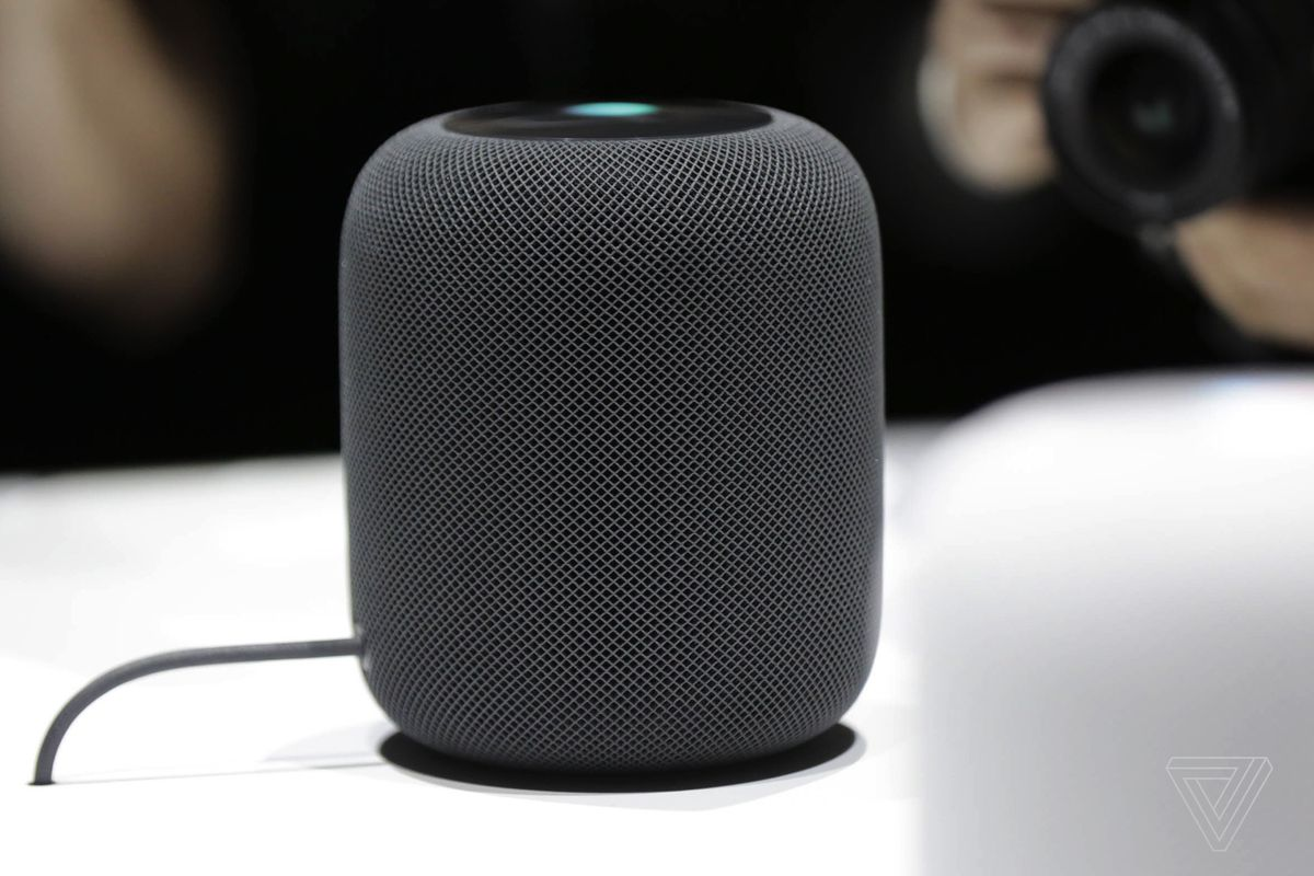 Image result for picture of Apple's homepod