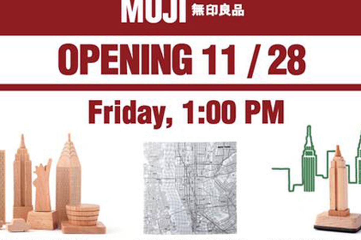 storecasting: muji chelsea opening next friday - racked ny