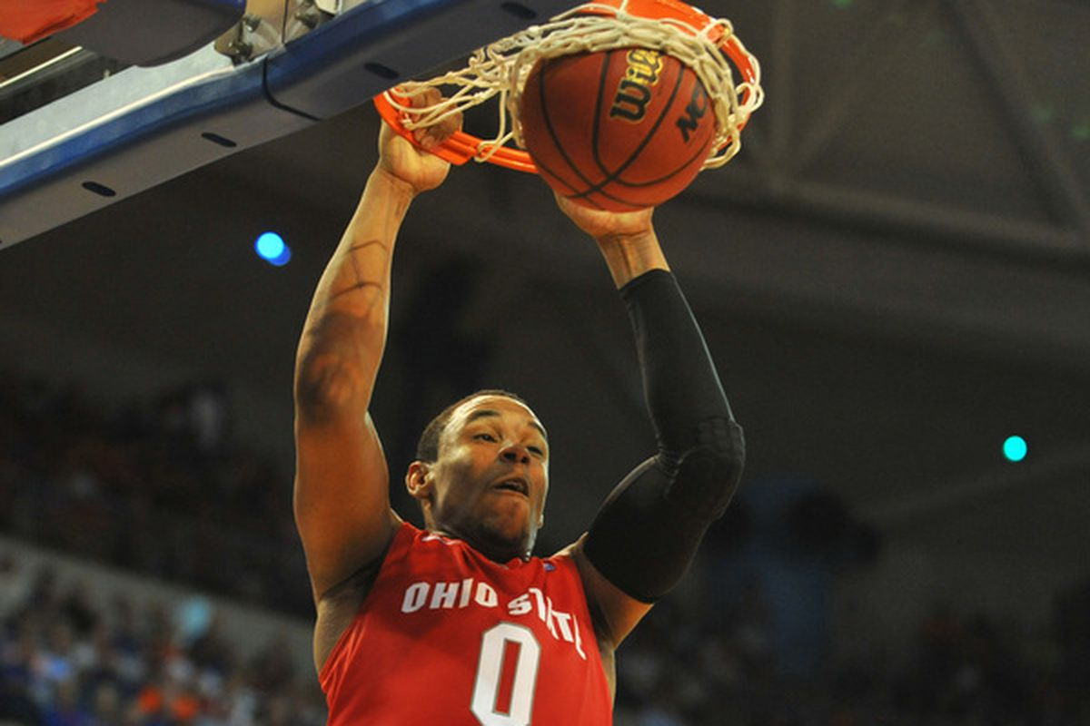 A sure-fire lottery pick in 2011, Jared Sullinger returned only to see his NBA stock drop due to back problems.