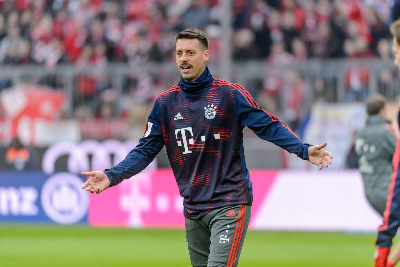 """Daily Schmankerl: Sandro Wagner on the move"""" Arsenal wants James Rodriguez"""" How great is Joshua Kimmich?s mustache"""""""