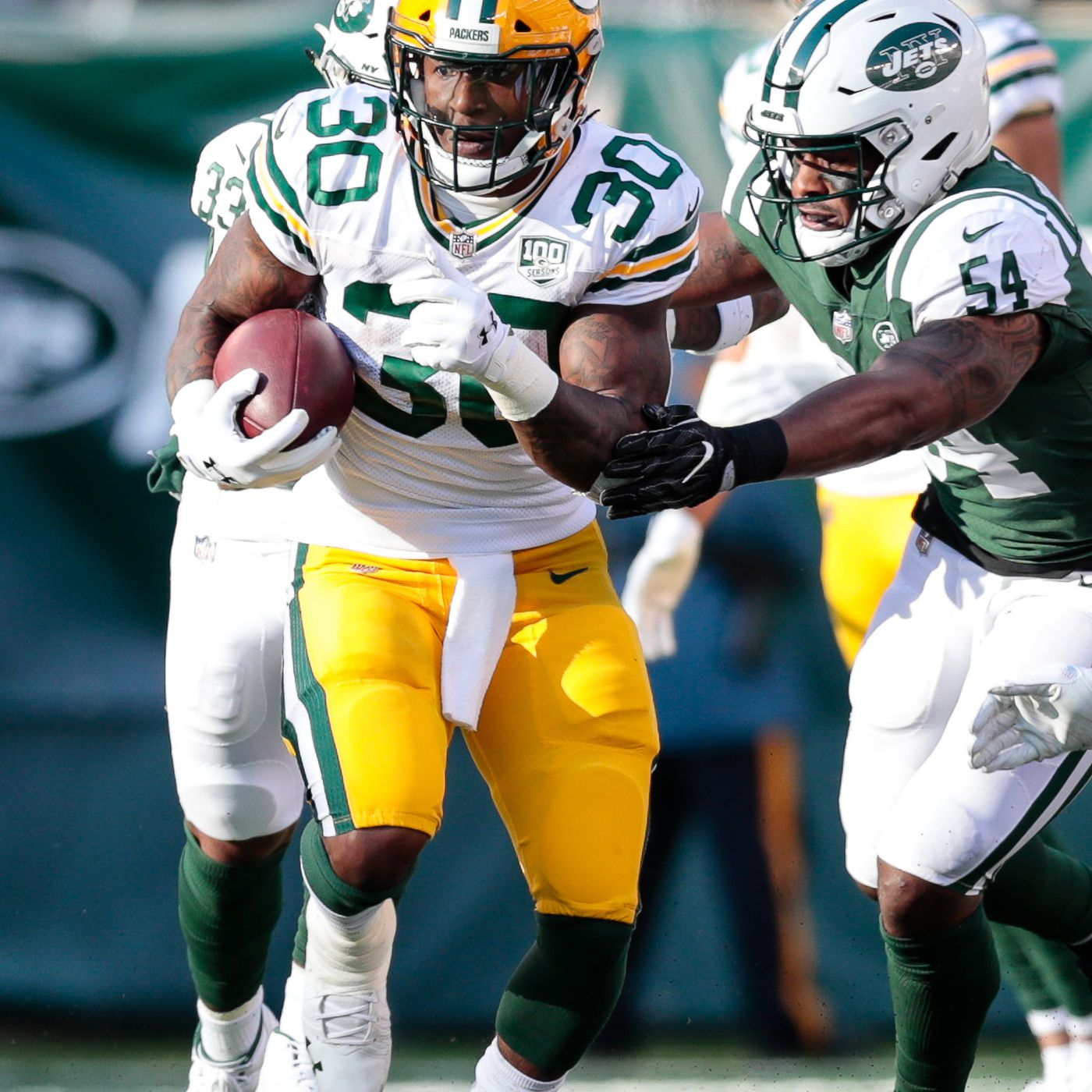 Packers 2019 Training Camp Roster: RBs are good, varied, and