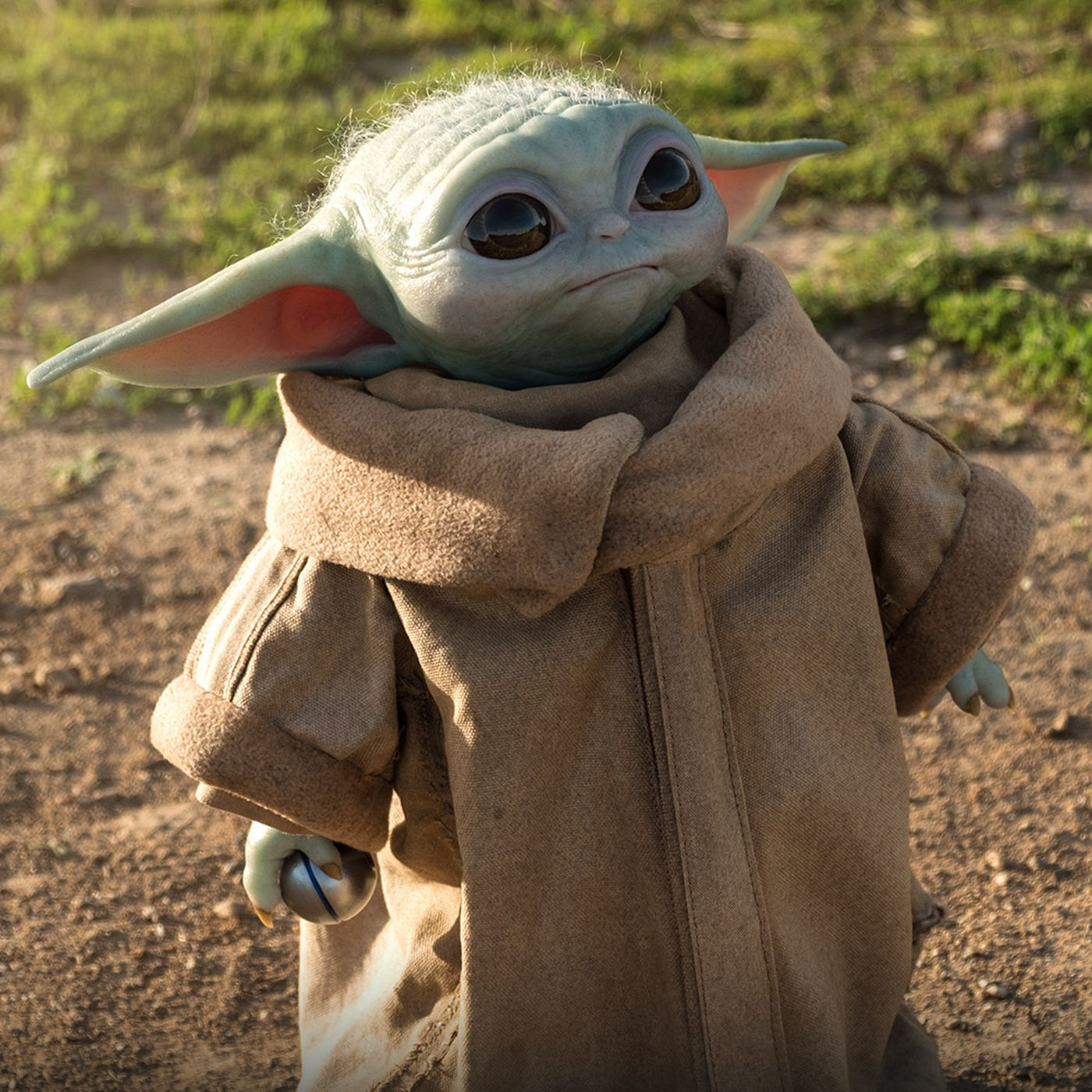 Baby Yoda S Official Life Size Figure From The Mandalorian Is Here Polygon
