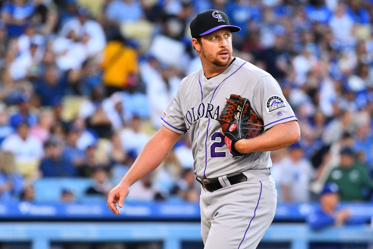 MLB: JUN 22 Rockies at Dodgers