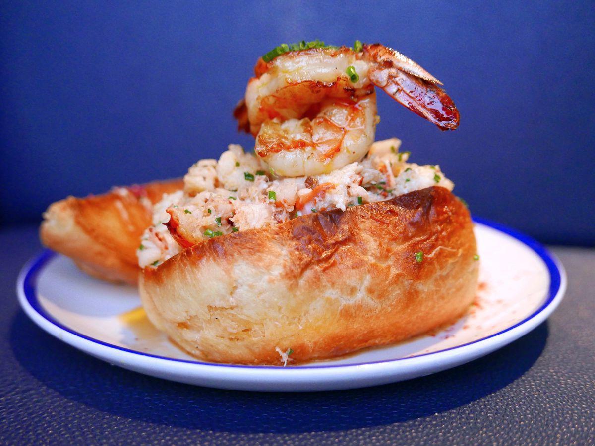 Restaurant Marin Lobster Roll Joshua Lurie