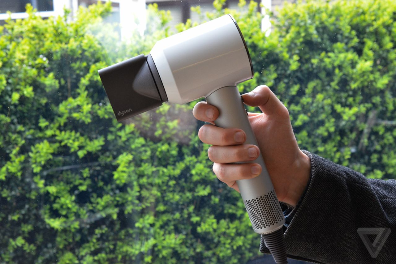 Dyson S First Ever Hair Dryer Is The Chic Industrial