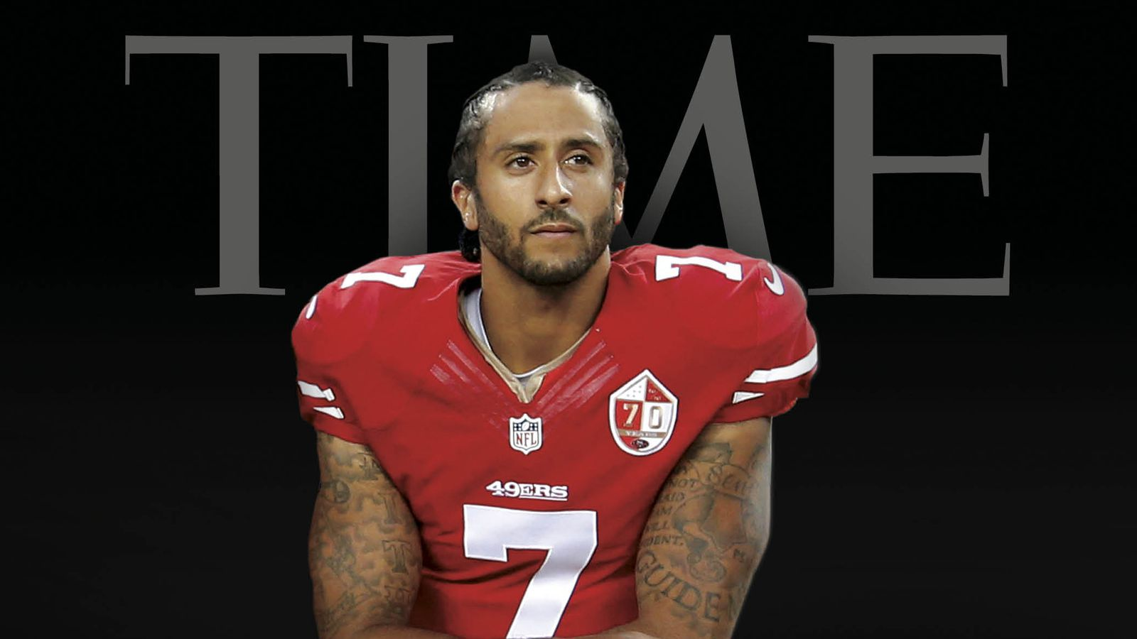 Colin Kaepernick Kneeling Protest Featured On Cover Of