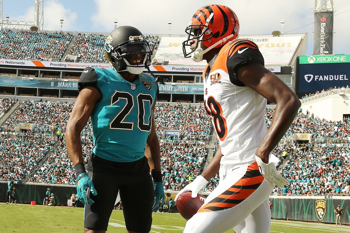 Jalen Ramsey and A.J. Green