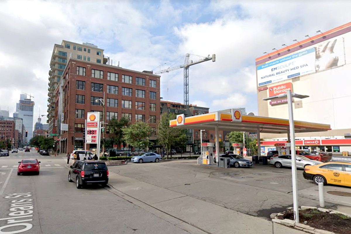 Four people were shot June 30, 2020, at the Shell Gas station in the 300 block of West Chicago Avenue.