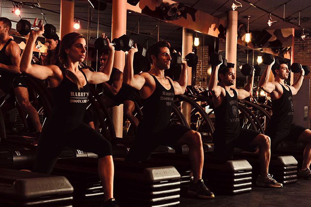 """Barry's Bootcamp is gonna make you sweat. Image via <a href=""""http://www.barrysbootcamp.com"""">Barry's Bootcamp</a>."""