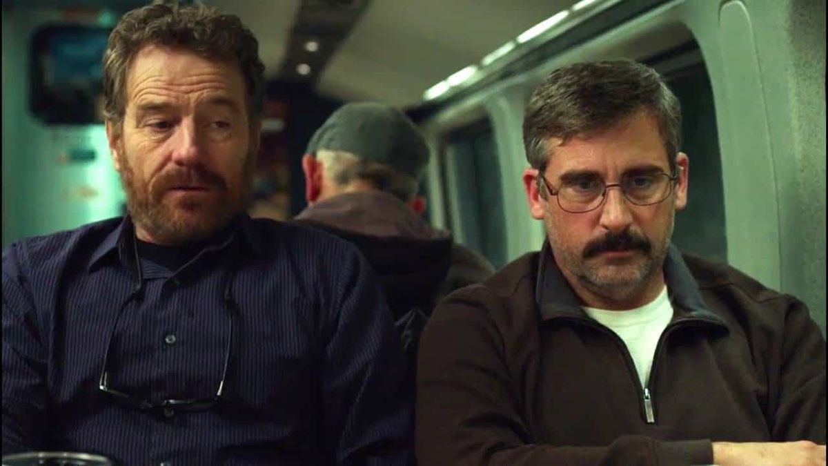 Bryan Cranston and Steve Carell in Last Flag Flying
