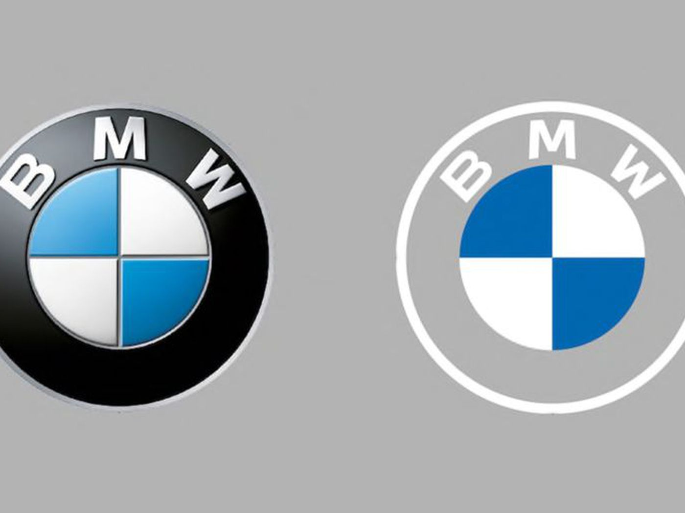 NEW BMW badge