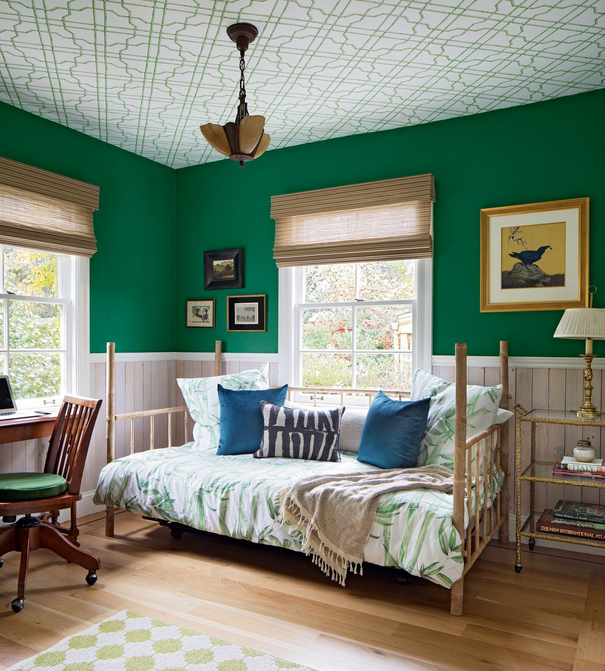 Reed House, office/guest bedroom