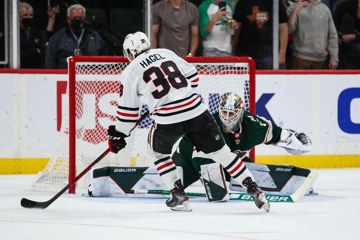 NHL: Preseason-Chicago Blackhawks at Minnesota Wild