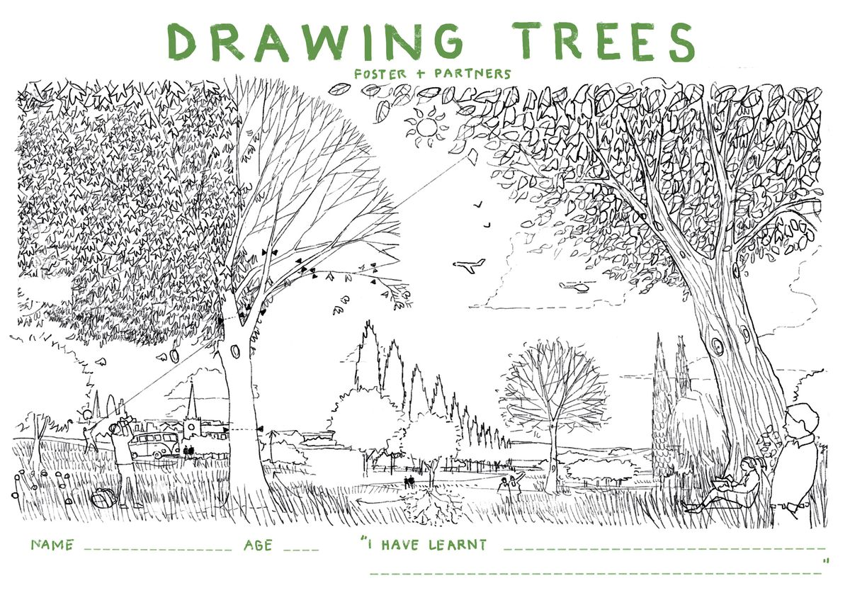 Worksheet showing coloring book page.
