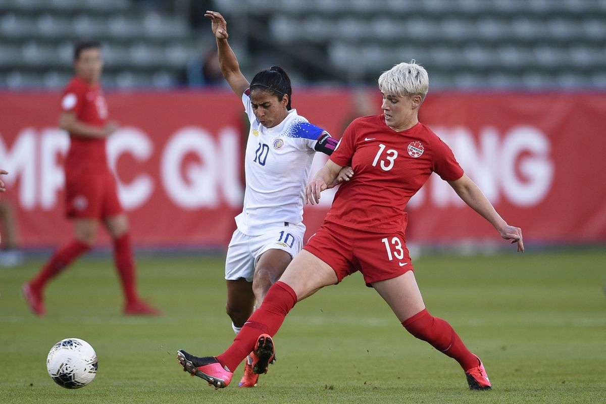 Soccer: CONCACAF Women's Olympic Qualifying-Costa Rica at Canada