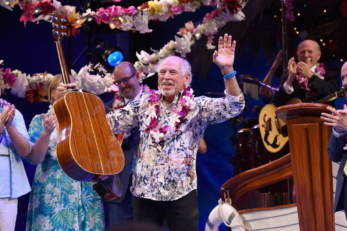 Jimmy Buffett and Cast of Escape to Margaritaville Celebrate Broadway Opening