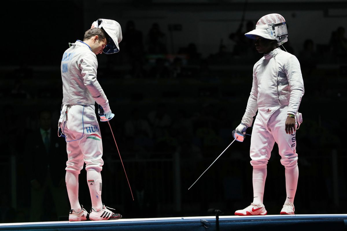 Rio 2016 Fencing Results Daryl Homer Wins Silver 1st Men