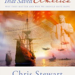 """The Persian Pickle Club recommended """"Seven Miracles That Saved America"""" by Chris Stewart and Ted Stewart."""