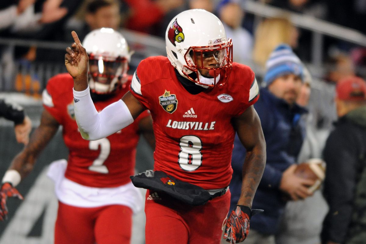 finest selection 946b2 e56ad Louisville football: Why Lamar Jackson's spring game ...