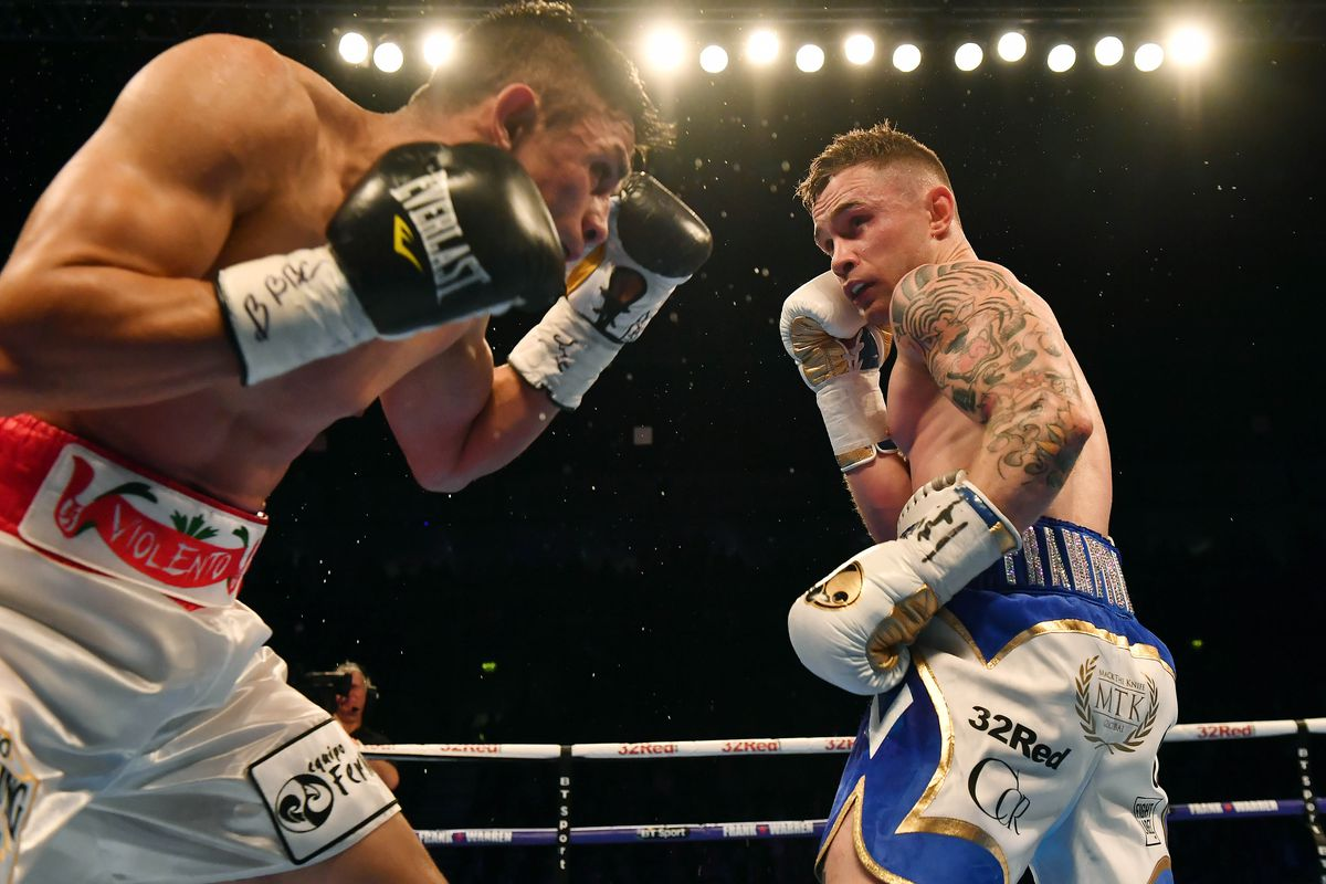 Boxing at SSE Arena Belfast
