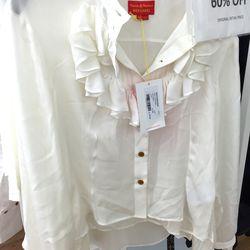 Frill love shirt, $318 (was $795)