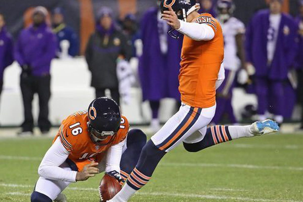 Bears K Cody Parkey named NFC Special Teams Player of the Week