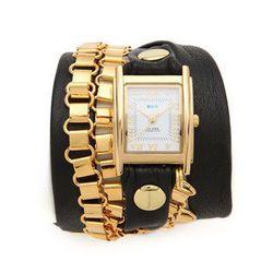 "<b>La Mer Collections</b> Egyptian chain wrap watch, $106 at <a href=""http://www.shopbop.com/egyptian-chain-wrap-watch-mer/vp/v=1/845524441960575.htm?folderID=2534374302055823&fm=other-shopbysize&colorId=13162&extid=affprg-2687457"">Shopbop</a>"