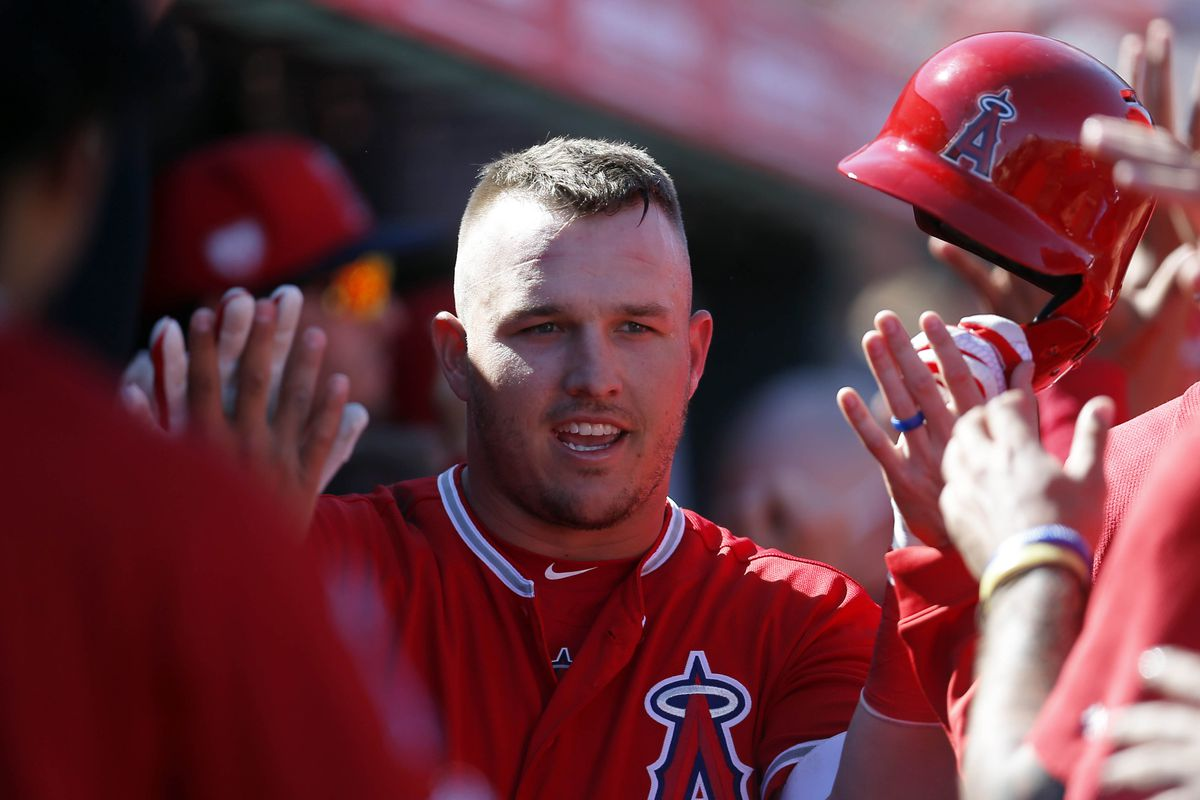 MLB: Spring Training-Chicago Cubs at Los Angeles Angels