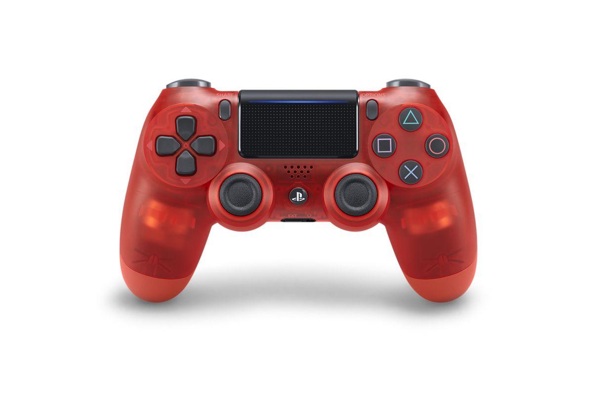 photo of best buy-exclusive red crystal dualshock 4