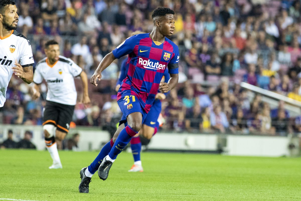 Ansu Fati could be missing for Barcelona for a month for U17 World Cup