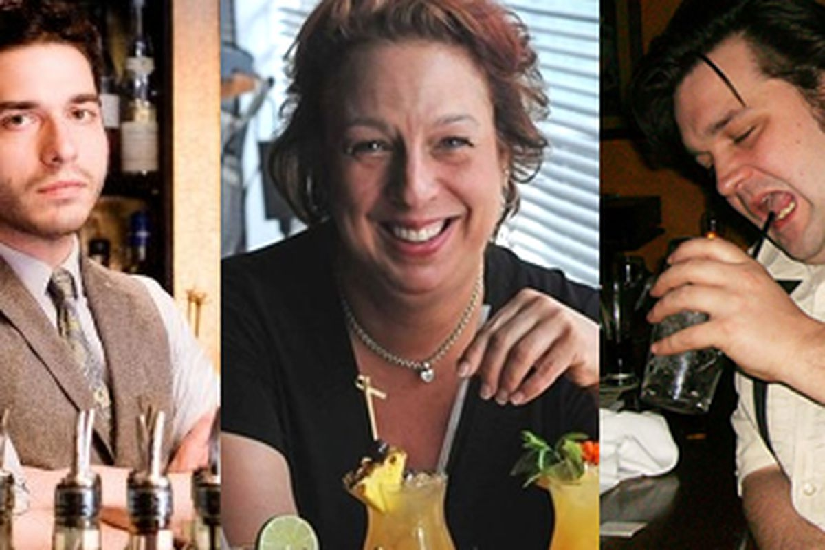 Bartenders of the Year: George Costa, Al Sotack, Katie Loeb, Casey Parker, Rich Colli.
