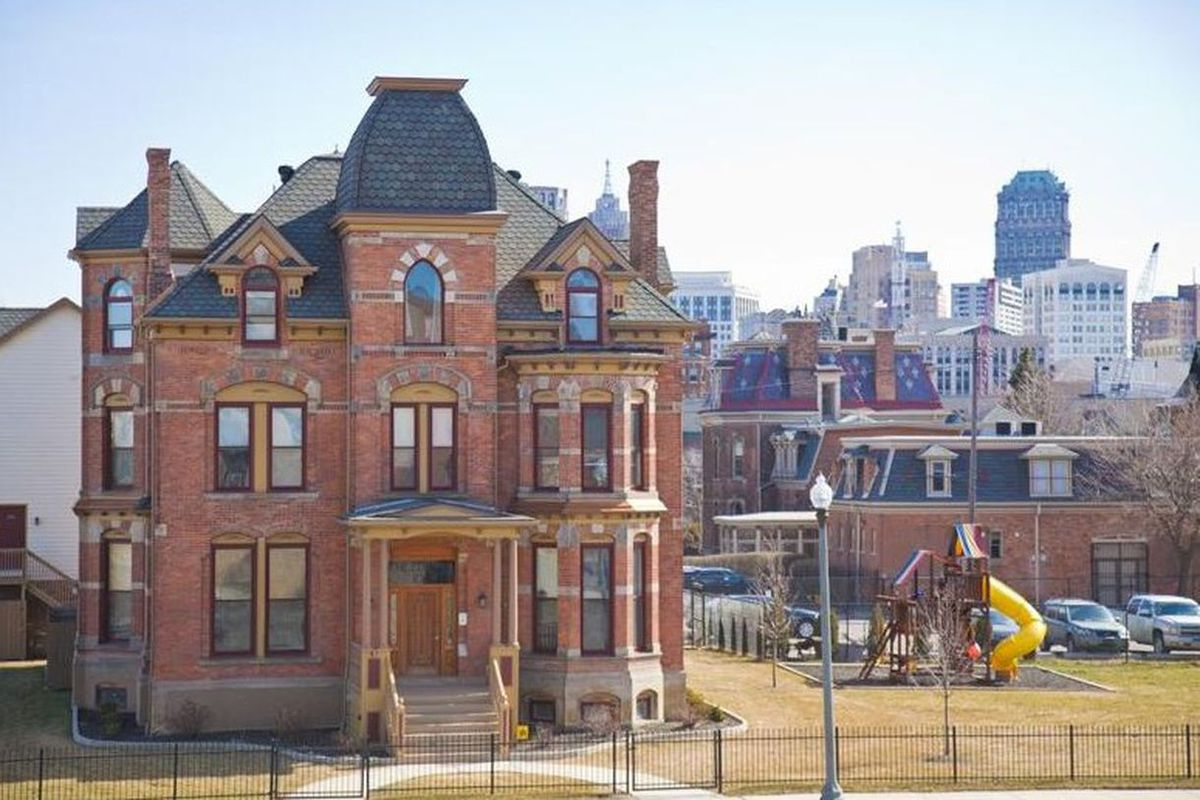 1885 Brush Park Victorian Mansion Now Rental Property