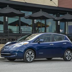 The 2016 Nissan Leaf can take you 107 miles on a single ...