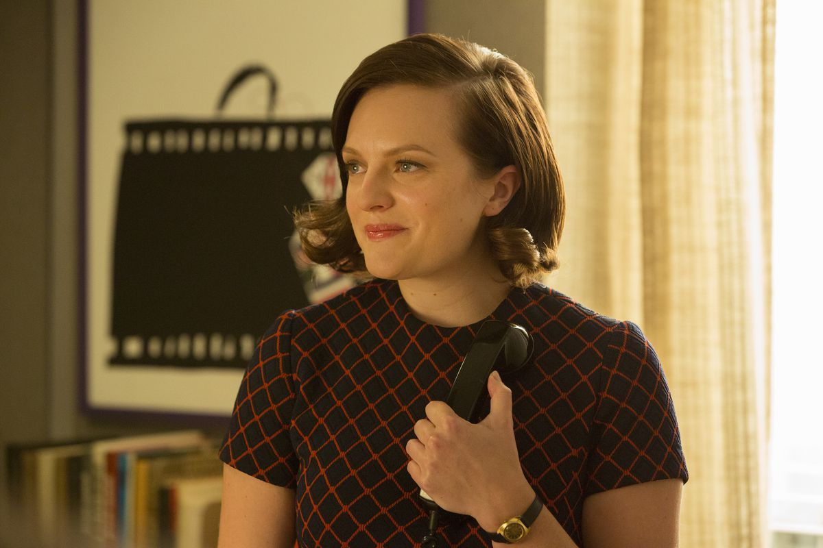 What's wrong with Peggy being happy? Nothing, that's what.
