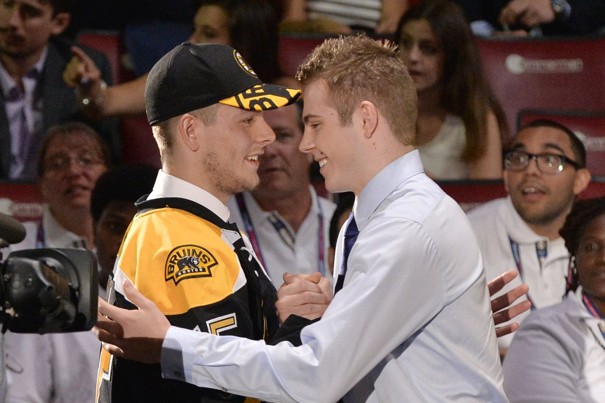Both Jake DeBrusk and Jacob Zboril will be in attendance in this years rookie camp